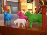 Waasland Shopping Center Polyester Schapen